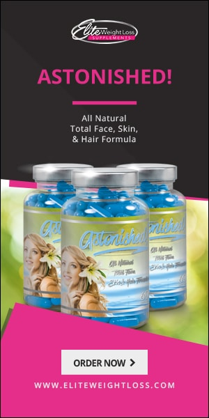 Astonished All Natural Total Face Skin and Hair Formula