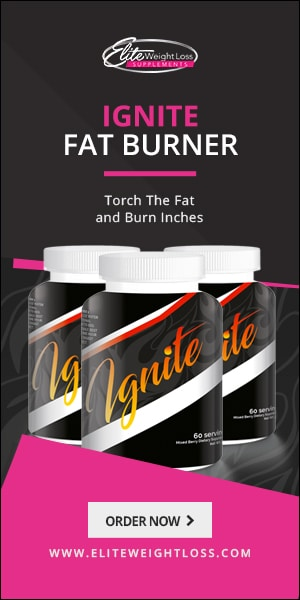 Torch the fat with IGNITE FAT BURNER!