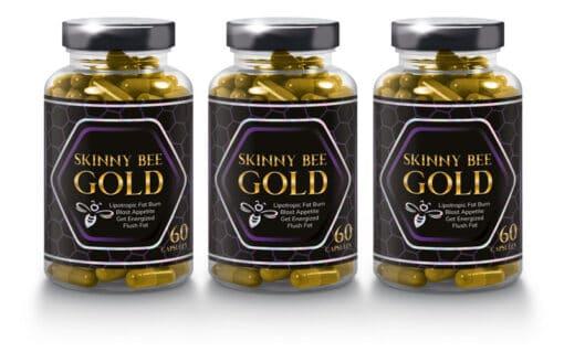 Skinny Bee Gold 3 Bottles