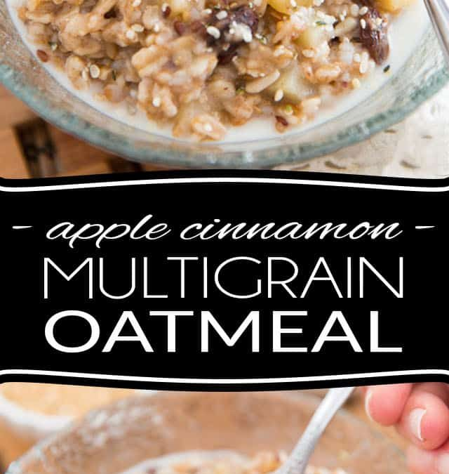 Apple Cinnamon Multigrain Oatmeal