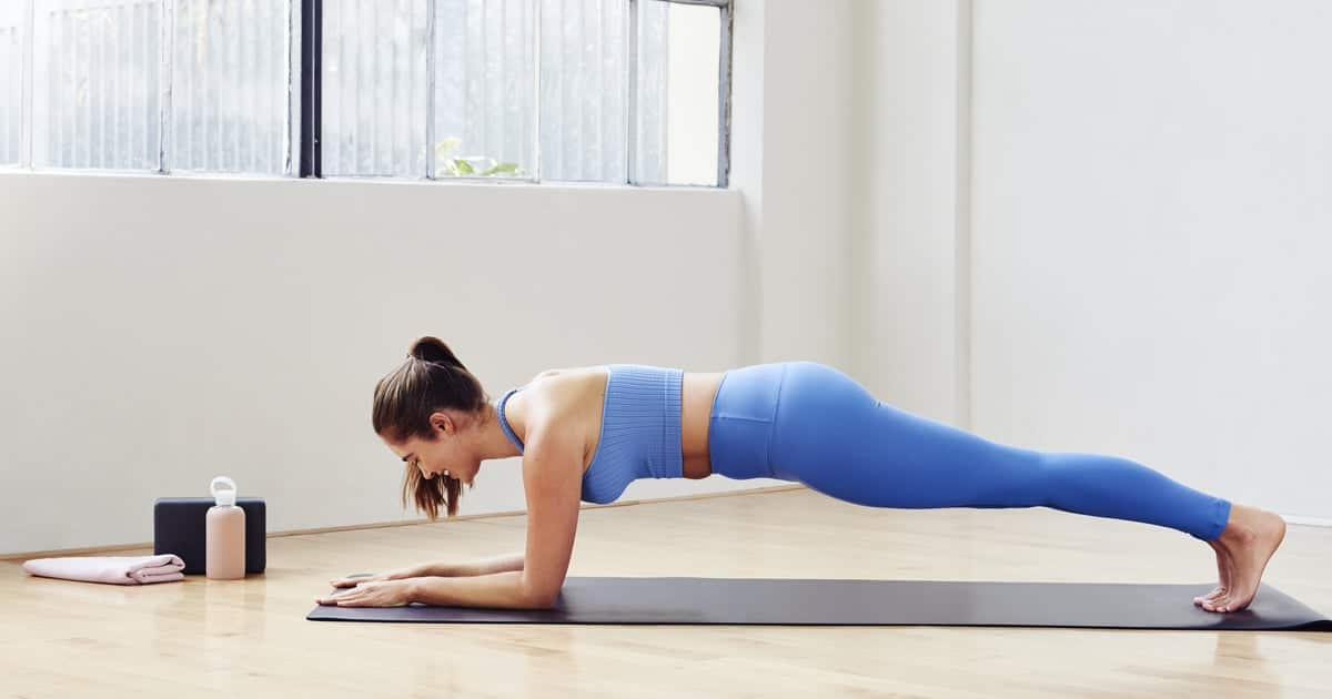 Ab-Strengthening Plank Workout