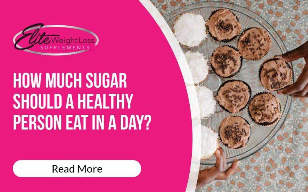How much sugar should a healthy person eat in a day?
