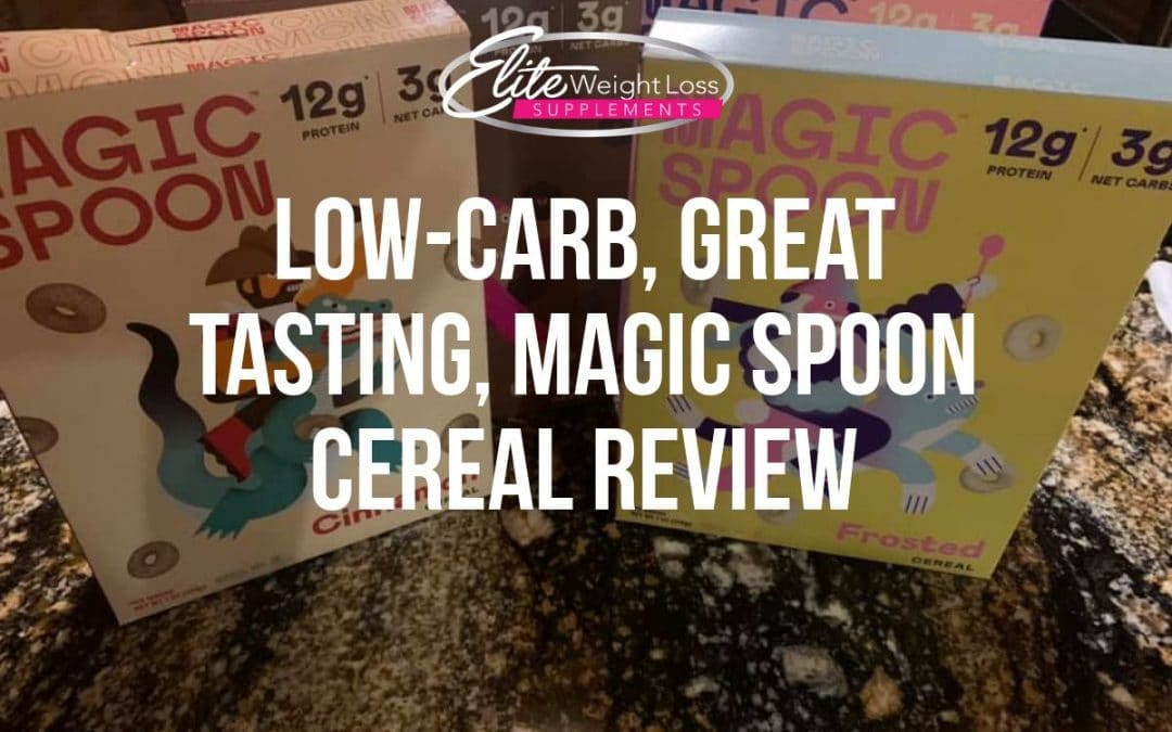 Low-Carb, Great Tasting, Magic Spoon Cereal Review