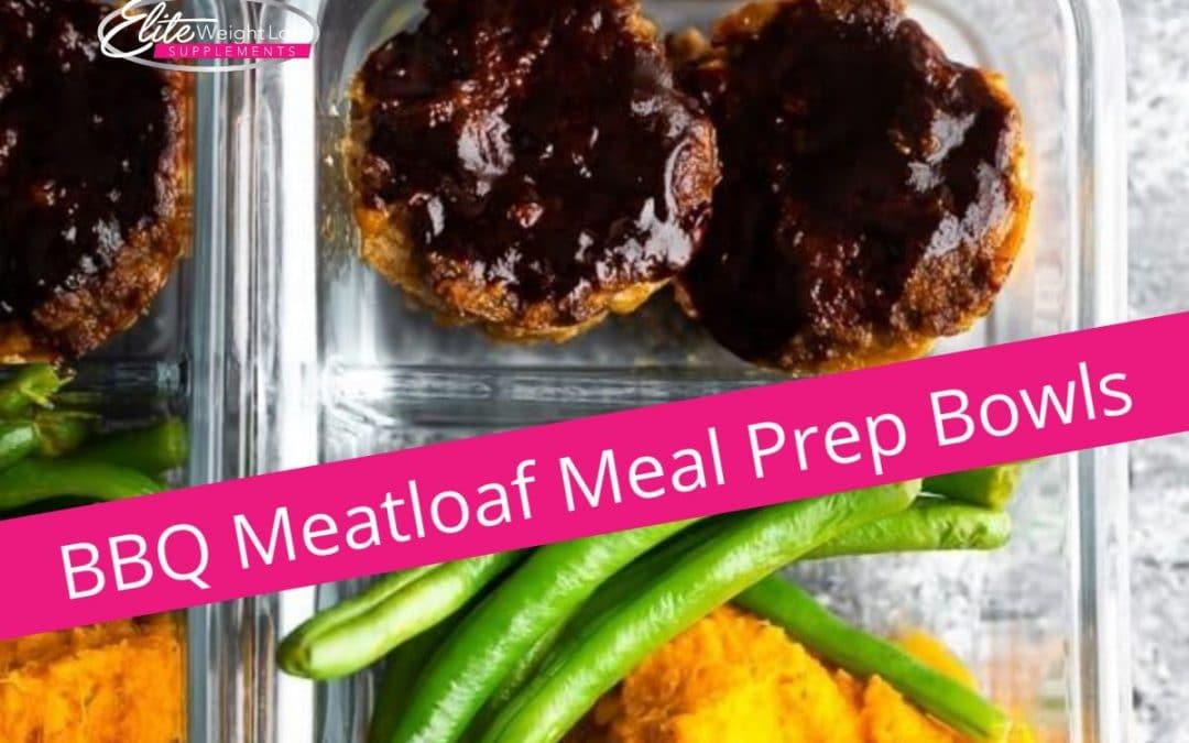 BBQ Meatloaf Meal Prep Bowls